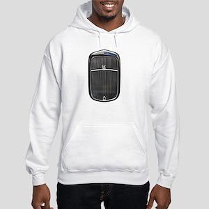 Grill-Black Hooded Sweatshirt