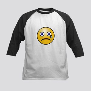 Crying Smiley Baseball Jersey