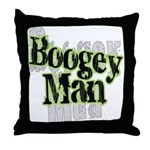Boogey Man Throw Pillow