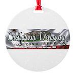 California Dreaming Ornament