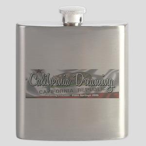 California Dreaming Flask