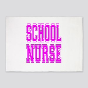 School Nurse 5'x7'Area Rug