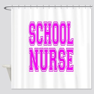 School Nurse Shower Curtain