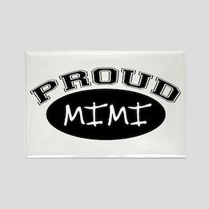 Proud Mimi (black) Rectangle Magnet