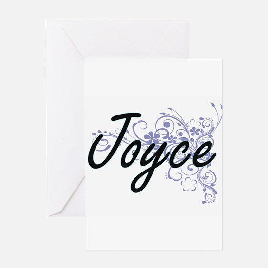 Joyce surname artistic design with Greeting Cards