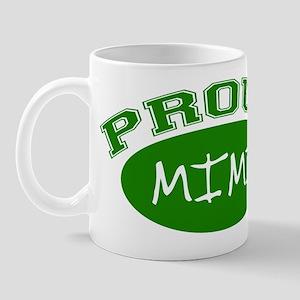 Proud Mimi (green) Mug