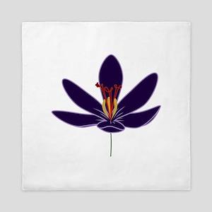 Crocus Blossom Queen Duvet