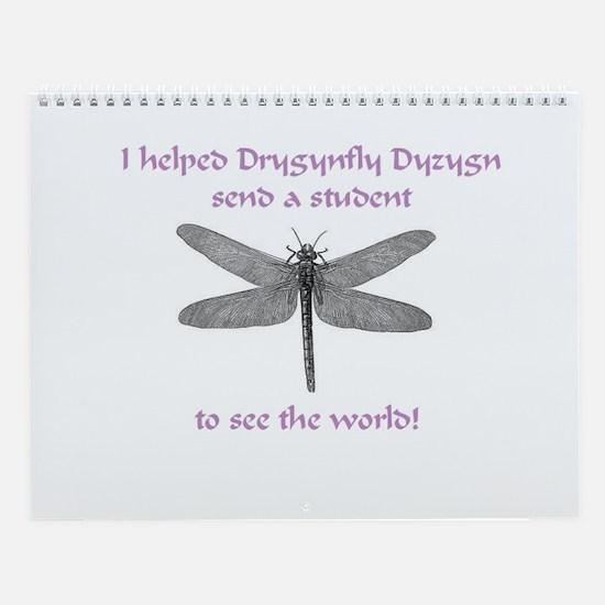 Dragonfly Pride Wall Calendar