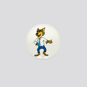 Werewolf with formal dress Mini Button