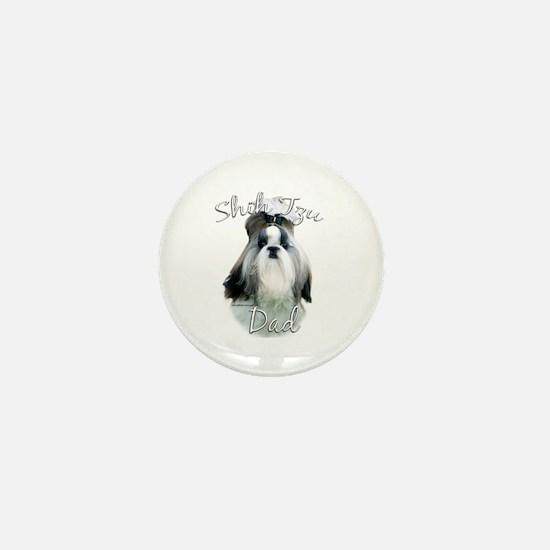 Shih Tzu Dad2 Mini Button