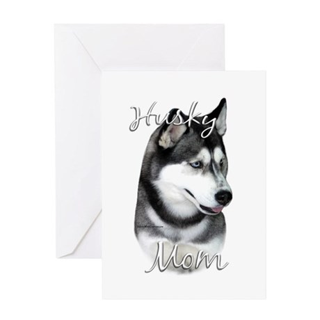 Husky Mom2 Greeting Card