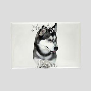 Husky Mom2 Rectangle Magnet