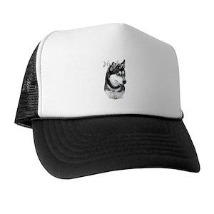 bb9b5c440ab Siberian Husky Trucker Hats - CafePress