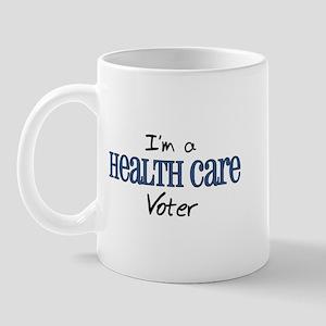 Health Care Voter Mug