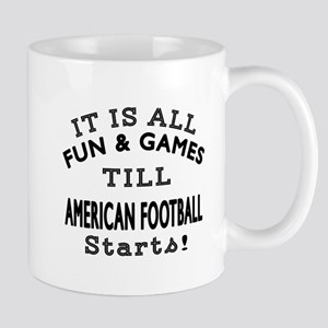 American Football Fun And Games Designs Mug
