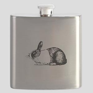Holland rabbit Flask