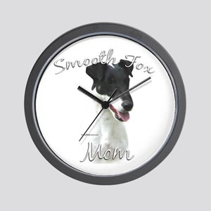 Smooth Fox Mom2 Wall Clock
