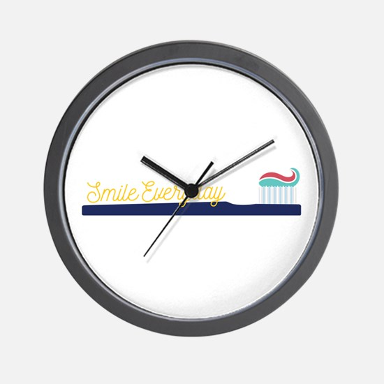 Smile Everyday Wall Clock