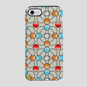 21st Pattern; Circles iPhone 8/7 Tough Case