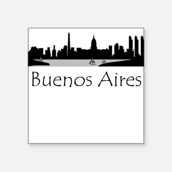 Buenos Aires Argentina Cityscape Sticker