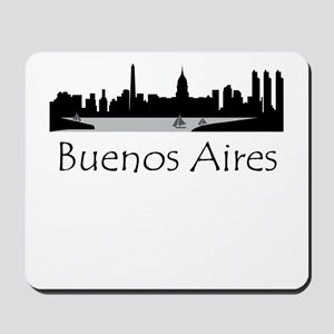 Buenos Aires Argentina Cityscape Mousepad