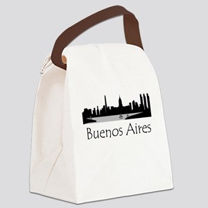 Buenos Aires Argentina Cityscape Canvas Lunch Bag