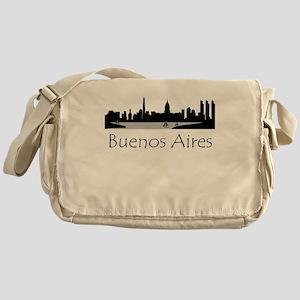 Buenos Aires Argentina Cityscape Messenger Bag