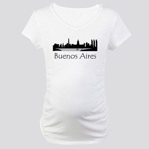 Buenos Aires Argentina Cityscape Maternity T-Shirt