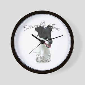 Smooth Fox Dad2 Wall Clock