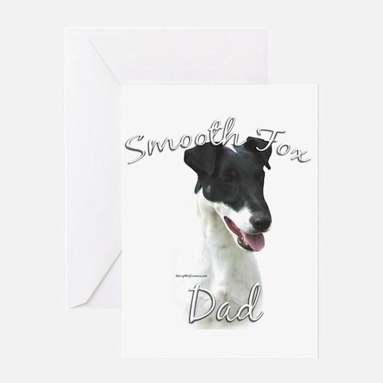 Smooth Fox Dad2 Greeting Card