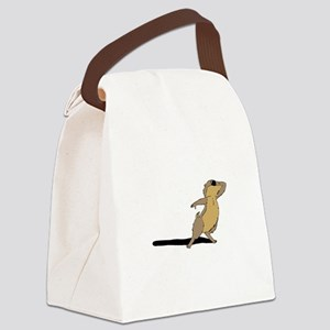Groundhog sad Canvas Lunch Bag