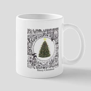 Christmas Town Puzzle/ Mug