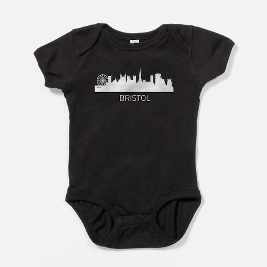Bristol England Cityscape Baby Bodysuit
