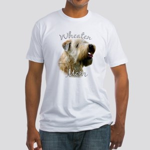 Wheaten Mom2 Fitted T-Shirt