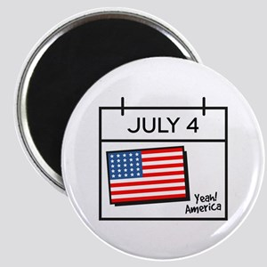 Yeah America Magnets
