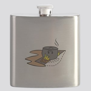 Campfires And Cooking Cranes Flask