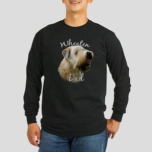 Wheaten Dad2 Long Sleeve Dark T-Shirt