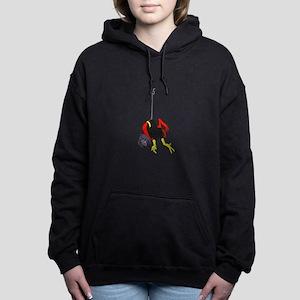 X Men hanging with rope Women's Hooded Sweatshirt