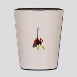 X Men hanging with rope Shot Glass