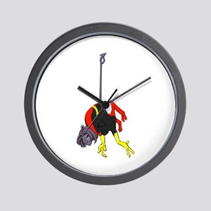 X Men hanging with rope Wall Clock