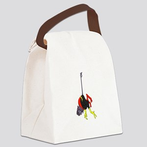 X Men hanging with rope Canvas Lunch Bag