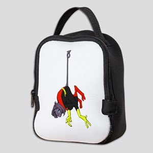 X Men hanging with rope Neoprene Lunch Bag