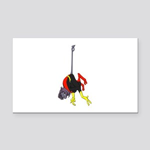 X Men hanging with rope Rectangle Car Magnet