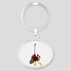 X Men hanging with rope Keychains