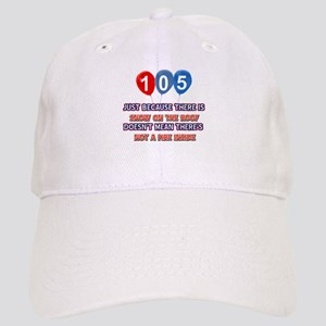 105 year old designs Cap