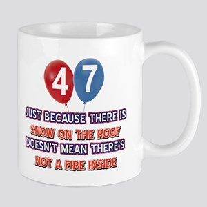 47 year old designs Mug