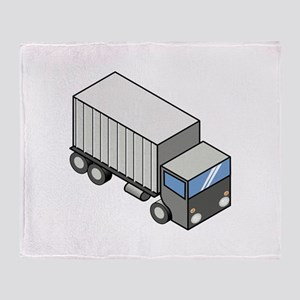 Iso truck Throw Blanket