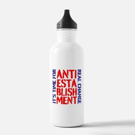 Anti-Establishment Water Bottle