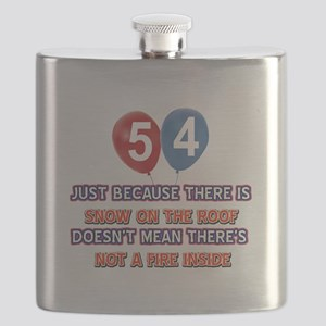 54 year old designs Flask