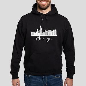 Chicago Illinois Cityscape Hoodie